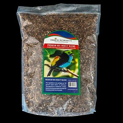 FREEZED DRIED MEALWORMS WITH MIXED INSECT BLEND 11lb