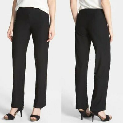Eileen Fisher XL Stretch Crepe Slim Ankle Pants
