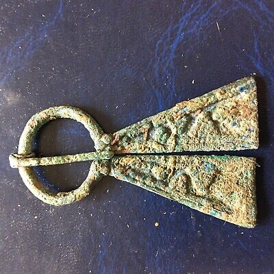 NORWEGIAN ''VIKING'' BRONZE PENANNULAR BROOCH With Authenticity Certificate
