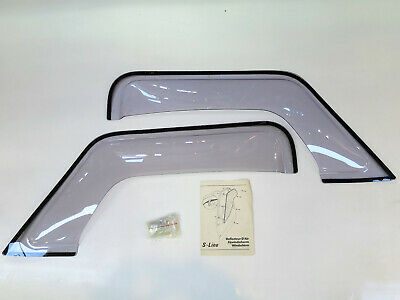 New old stock genuine Classic Mini Wind deflectors (front doors wind up windows)