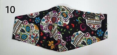 Washable Cotton Fabric Face Mask Covers