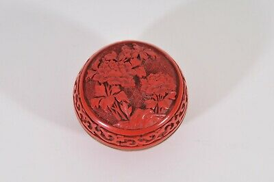 Chinese red lacqueur box