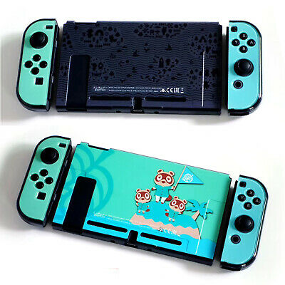 Protective Case Housing Shell for Animal Crossing NS Console Joy-Con Controller