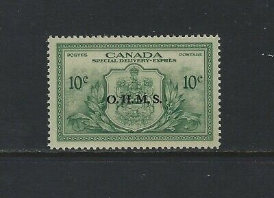CANADA - #EO1 - 10c SPECIAL DELIVERY OHMS OVERPRINT MINT STAMP MNH