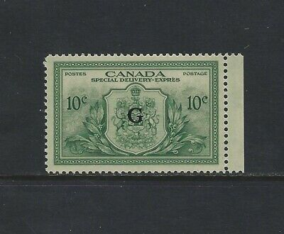 CANADA - #EO2 - 10c SPECIAL DELIVERY G OVERPRINT MINT STAMP MNH