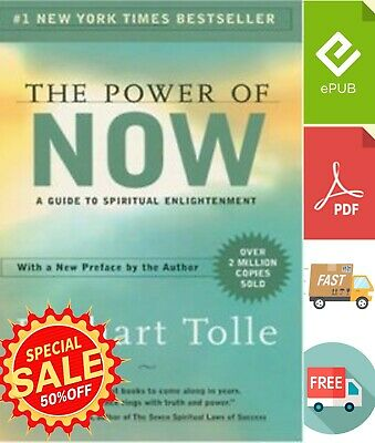 The Power of Now: A Guide to Spiritual Enlightenment⚡ {P.D.F} ⚡