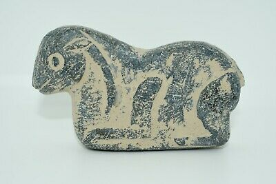 ancient bactrian stone composite animal statue/sculpture figurine
