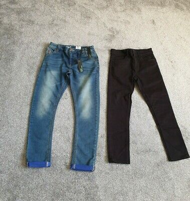 Boys Next Skinny Jeans Age 11 Years (2 pairs)