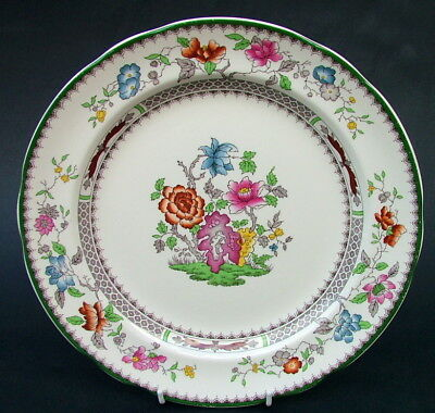 Copeland Spode Chinese Rose Large Size Dinner Plates 26.5cm - in Used /Good