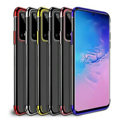 Case For Samsung Galaxy S6 S7 Edge S10 S9 Plus Shockproof Silicone Luxury Cover