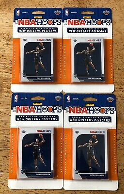 2019/20 Panini NBA Hoops Team Collection Pelicans Zion Williamson ROOKIE Card RC