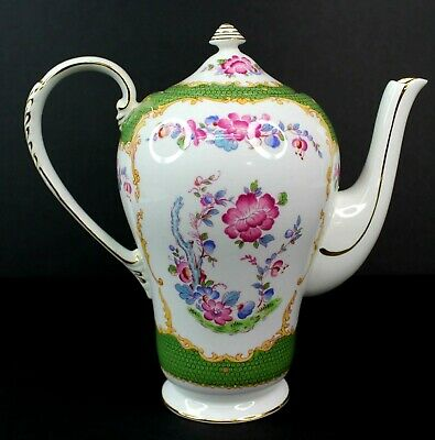 Vintage A.B.J Grafton Canton China Teapot Made in England Antique Beautiful