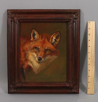 Authentic Original ANTHONY BARHAM Portrait Oil Painting of Country FOX, NR