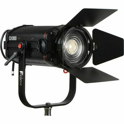 Fiilex Q1000 LED Spot c/w Barndoors, 5inch Fresnel for Film and Television
