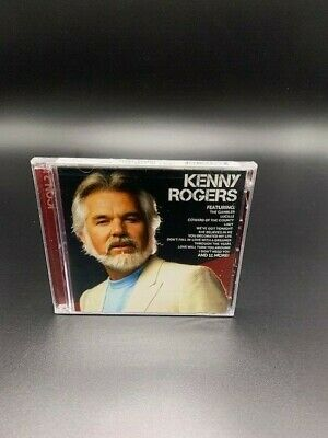 1 CENT CD Kenny Rogers (2 CD) Icon 2 SEALED  PROMO Kim Carnes DOTTIE WEST