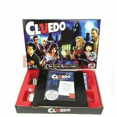 Cluedo The Classic Mystery Board Game Perfect Family Game New