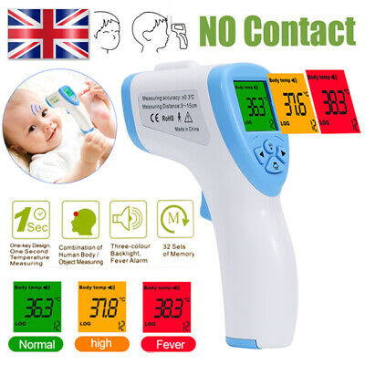 IR Infrared Digital Termometer Non-Contact Forehead Baby Adult Thermometer GT