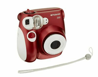 Polaroid PIC-300 Instant Film Photo Printing Camera Red & White New Open Box