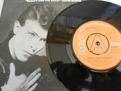 """David Bowie - Beauty and the beast / Sense of doubt RCA 7"""" single demo"""