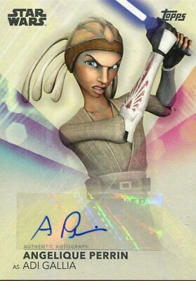 Topps 2020 The Women Of Star Wars Autograph Angelique Perrin