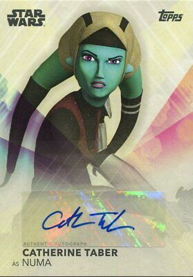 Topps 2020 The Women Of Star Wars Autograph Catherine Taber