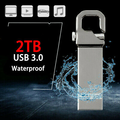 High Speed USB 3.0 Flash Drives 2TB Memory Stick Metal Pen U Disk for PC Laptop