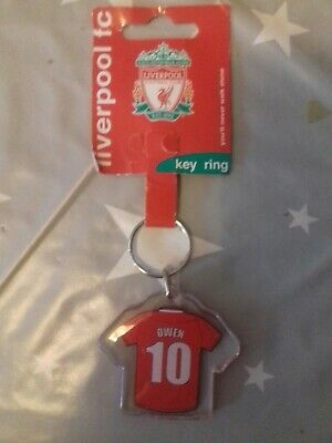 Liverpool fc Keyring Owen no 10 X1