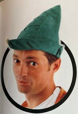 Green Hat Robin Hood Costume Accessory by Elope Peter Pan