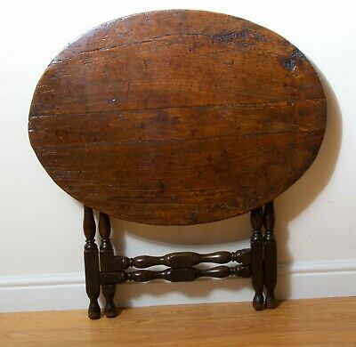 Fine Antique English Country Coaching Table - Excellent Colour & Patination.