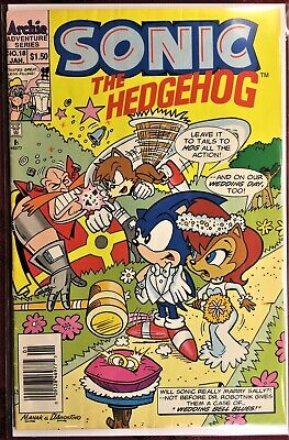 SONIC The HEDGEHOG Comic Book #90 January 2001  First Ed Bagged Boarded VF+