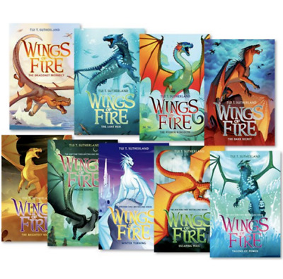 Wings of Fire 1-8 Books Set By Tui T. Sutherland (P.D.F / E.p.u.b)
