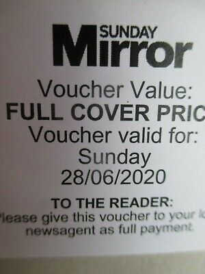 A quarter of face value, 13 weeks Daily Mirror/Sunday Mirror vouchers, worth £90