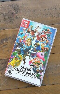 LIKE NEW - Super Smash Bros Ultimate - Nintendo Switch Game - Mint Condition