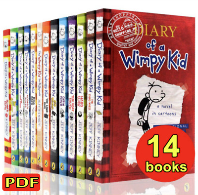 Diary Of A Wimpy Kid Collection 🔥 14 Books 🔥 Set By Jeff Kinney (P.D.F)