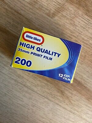 Little Tikes High Quality 35mm Print Film 200 12 Exp Film New In Box