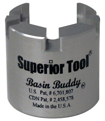 Superior Tool 03825 Basin Buddy UNIVERSAL Faucet Nut Wrench-Wrench to grab metal