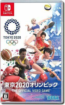 NEW Nintendo Switch Tokyo 2020 Olympic Games The Official Video Game JAPAN