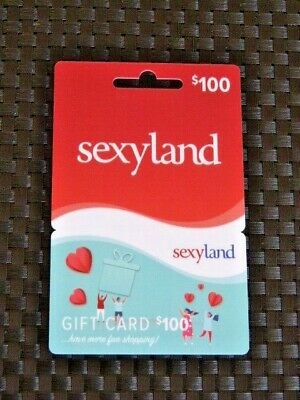 Sexyland 100$ Gift Cards