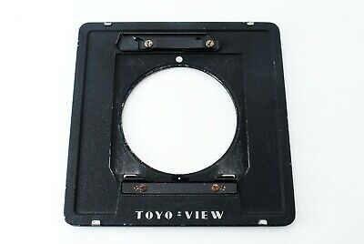 """Toyo View 4x5 Lens Board Adapter for Linhof Wista board """"EXC """"564225"""