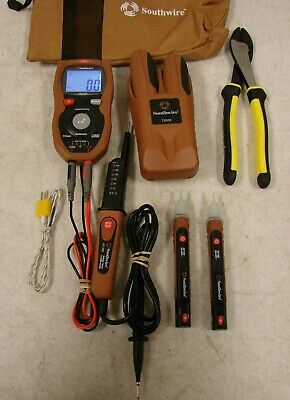 Southwire Tone & Probe Pro Kit T200K, Digital Multi-Meter 16030A and Other Tools