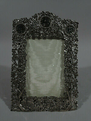 Export Frame - Picture Photo Antique China Trade - Chinese Silver - Wang Hing