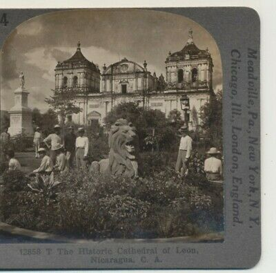 Keystone Stereoview Old-Time Irrigation Methods in Italy From 1200 Card Set #539