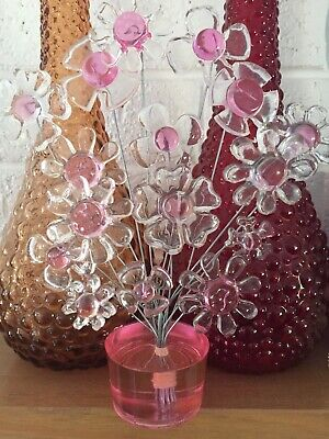 Resin Flower Sculpture..... Similar To Crystal Craft And Colorflo.