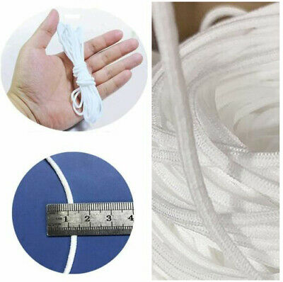 3mm Round Elastic Band Cord Ear Hanging Sewing Craft DIY Material 10/50/100m US