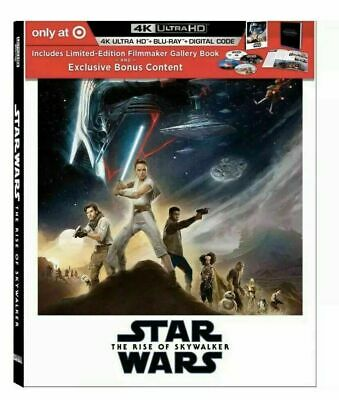 Star Wars: The Rise of Skywalker Target Exclusive Limited Ed. (4K/UHD/Blu-ray)