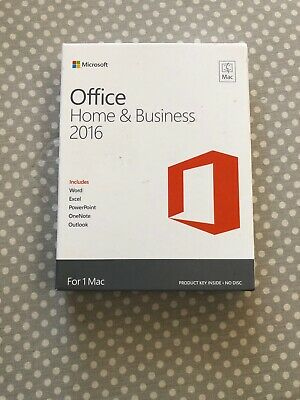 Microsoft Office Home & Business 2016 (License Only) (1) - Full Version for Mac