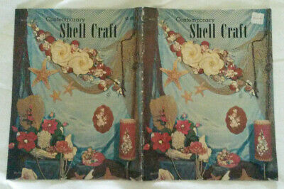 """Retro """"Contemporary Shell Craft"""" ~ 1965 - 1970 Shell Decorating Ideas ~ 23 Pages"""