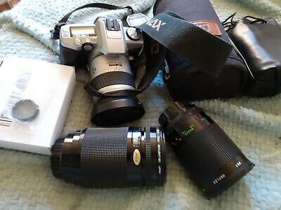 Fantastic Minolta Bundle..Dynax 5 Camera with lenses..and bags etc.