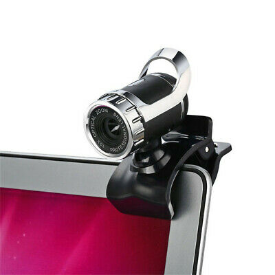 360 Degree USB 12M HD Webcam Web Cam Clip-on Digital Camcorder with MIC For PC