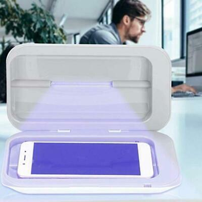 "UV Phone Sanitizer - Universal Fit up to 7"" Phone - same Phonesoap USB Charger"